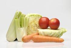 овощи toatoes редиски паприки сада морковей пука Стоковое фото RF