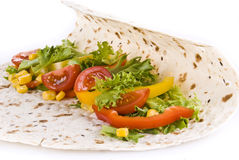 овощи tortilla стоковые фотографии rf