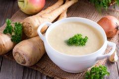Овощной суп младенца cream Стоковая Фотография