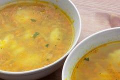 Овощной суп Стоковые Фотографии RF
