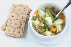 Овощной суп Стоковая Фотография