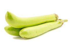 Овощ баклажана или aubergine дальше на белом backgroun Стоковые Фото