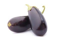 Овощ баклажана на белизне Стоковые Фотографии RF