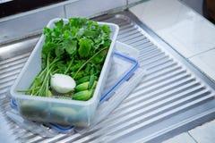 Овощ в коробке Стоковое фото RF