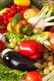 овощ группы плодоовощ предпосылки Стоковые Фото