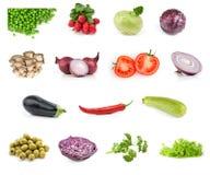 овощ еды собрания Стоковые Изображения RF
