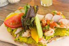 Овощ и фруктовый салат Стоковое Изображение