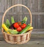 овощ корзины Стоковое фото RF
