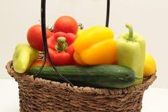 овощ корзины Стоковые Изображения