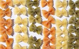 овощ макаронных изделия петли форменный Стоковая Фотография