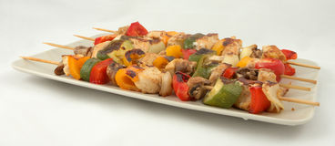 овощ мяса kebab Стоковое Фото