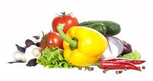 Овощ на белой предпосылке Стоковое фото RF