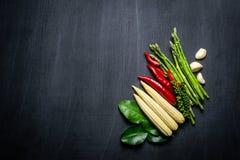 Овощ на предпосылке классн классного Стоковые Изображения