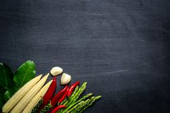 Овощ на предпосылке классн классного Стоковое фото RF