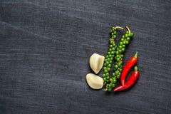Овощ на предпосылке классн классного Стоковое Фото