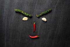 Овощ на предпосылке классн классного Стоковые Фото