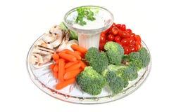 овощ плиты Стоковая Фотография RF