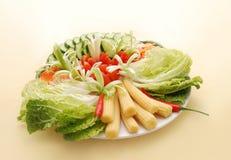 овощ плиты Стоковое фото RF