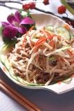 овощ ресторана солениь тарелок Стоковое Фото