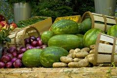 овощ рынка дисплея Стоковая Фотография