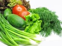 овощ салата установленный Стоковое Изображение RF