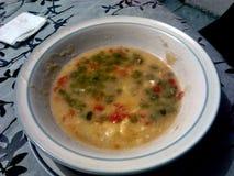 Овощ славного супа домодельный стоковое фото rf