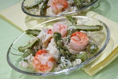 овощ соуса риса мяса стоковые фотографии rf