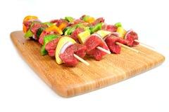 овощ стейка kabob s Стоковое Изображение RF