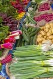 овощ стойки рынка хуторянин Стоковые Изображения RF