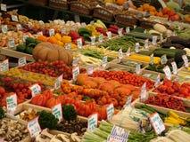 овощ стойки Стоковая Фотография RF