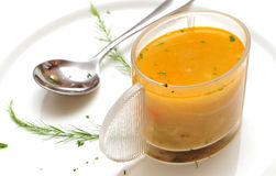 овощ супа диетпитания точный Стоковое Изображение RF