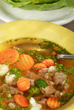 овощ супа мяса Стоковая Фотография RF