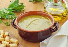 овощ супа установки Стоковое Изображение RF