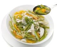 овощ супа цыпленка шара Стоковое Изображение