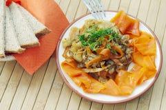 овощ тарелки горячий стоковая фотография rf