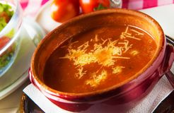 овощ томата супа шара Стоковое Изображение