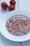овощ томата супа шара Стоковые Фотографии RF