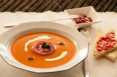 овощ томата супа шара Стоковые Фото