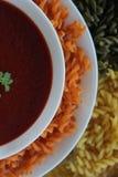 овощ томата супа шара Стоковые Изображения
