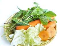 Овощ установленный для еды здорового питания Стоковое Изображение