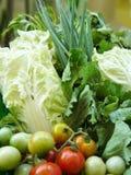Овощ установленный для еды здорового питания Стоковая Фотография