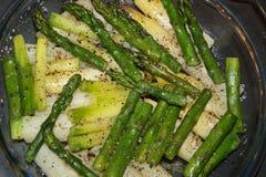 Овощ Aspargus очень вкусный стоковые фотографии rf