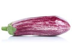 Овощ aubergine баклажана граффити изолированный на белизне Стоковое Изображение RF