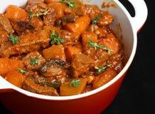 овощ casserole говядины стоковое изображение rf