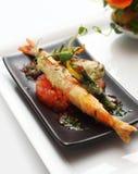 овощ tempura креветки короля Стоковые Изображения