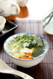 овощ tofu супа стоковое фото