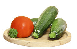 овощ w сердцевин капусты брокколи Стоковая Фотография RF