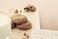 Овсяная каша печенья ручной работы Стоковое Изображение RF