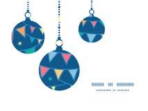 Овсянка doodle вектора красочная сигнализирует рождество иллюстрация штока