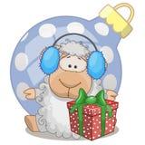 Овцы в наушниках меха бесплатная иллюстрация